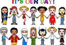 Március 8.- Nőnap / A nemzetközi nőnap a nők iránti tisztelet és megbecsülés kifejezésének napja, amelyet 1917 óta (Magyarországon 1948 óta) minden év március 8-án tartanak. A nemzetközi nőnapot az ENSZ is a világnapok közt tartja számon. A nőnap eredetileg a mai virágos, kedveskedős megemlékezéssel szemben munkásmozgalmi eredetű, harcos, a nők egyenjogúságával és szabad munkavállalásával kapcsolatos demonstratív nap volt.
