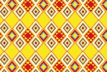 Patterns / Patterns I love, that have a warm, somewhat surfy/african element.