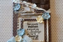 Inspiration: Chocolate Cards & Boxes