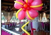 Balloon Centerpieces / Balloon Centerpieces