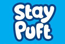 TIPOGRAFIA | Logotipo Stay Puft / Criação tipográfica para logotipo ficcional Stay Puft para aplicação em estampa de camiseta.