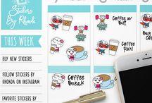 Erin Condren Planner Stickers / Fun planner stickers for your Erin Condren planner