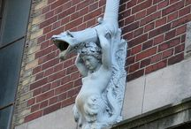 Gargoyles  and  Grotesques / by audrey miles