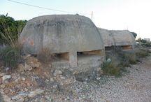 #GuerraCivil a #Alcanar / Restes de la #GuerraCivil al llarg del terme municipal d'#Alcanar