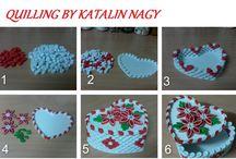 Quilling tutorials by Katalin Nagy