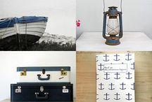 maritim stue pynt