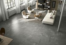 Concrete Floor Tiles / Contemporary Flooring, Modern Flooring, Concrete Flooring