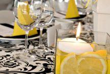 Wedding / lime lemon etc