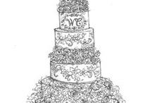 Fantasy Royal Wedding Cake