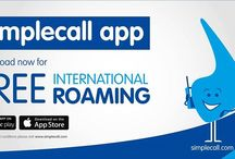 Free International Roaming / simplecall app is available both for Android and iPhone now, which is free. Download simplecall app and get a free Local Direct Inward Dialling (DID) number and enjoy free international roaming all over the world