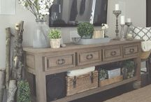 TV Table and Coffee Table Styling