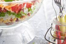 SALADS ...all kinds! / Pasta  Tossed Lettuce   / by Kimberlee Duckett Davis