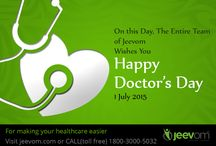 Happy Doctors Day! - #ThankYouDoctor / On this Day, The Entire Team of Jeevom Wishes You  Happy Doctor's Day!  #ThankYouDoctor  #NationalDoctorsDay #Doctors  #doctorsday #ThankYouDoctor #‎happy‬ ‪#‎doctor‬s ‪#‎day‬. #doctorsday #WeLoveOurDoctors #Doctor #ThankYouDoctors  #WeLoveOurDoctors #Respectdoctors  - Man Behind The Event #AmitGiri #MayankGupta #VarunSehgal