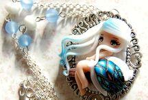 Куклы из полимерной глины