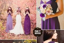 Wedding colour ways