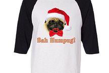 TeeShirtPalace Christmas Apparel / Looking for the perfect shirt to wear this Christmas? We TeeShirtPalace has all you are looking for. #pug #christmas #uglychristmastshirts #pugmas #tshirts #funny