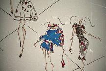 Disegni 1 / Alcuni disegni utilizzati per la mia tesi di laurea sul vintage