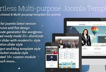 Joomla Templates / hand crafted joomla templates here / by bdthemes