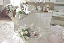Romantic rooms style