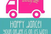 Thirty-One Order Shipped