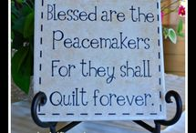 Quilting Sayings / Vinyl for Quilters