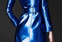 Metallic blue, grey