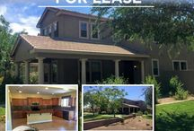"""HOMES FOR RENT / If you are looking to rent a home, let """"The Fry Team"""" make it simple for you... CALL 623-748-3818 or visit us at www.FryTeamAZ.com for more info."""