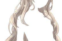 | Anime hair