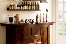 Small Home Bars / Home Bar ideas for small spaces