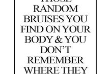 Sex/bruises