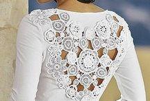 Aplicaciones en chochet / Flores y accesorios en chochet para prendas de lana y algodón