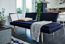Øje-blik Daybed / day bed. Copenhagen design. Danish design. oak tree.