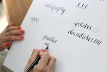 Calligraphy / by Monica Bradbury-Lareau