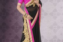 Party Sarees Collection / Add glamour to your style with stunning range of mesmeric party wear sarees. Pick your favorite one now from http://www.mishreesaree.com/Online/Sarees/Party-Wear-Sarees
