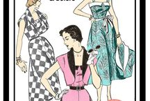 Vintage Pattern Love