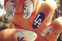 Пальмовый декор для ногтей