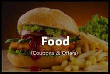 Food / Get latest offers on online food orders. Order from eatfresh, foodpanda, swiggy, dominos, pizzahut and get exclusive discounts.