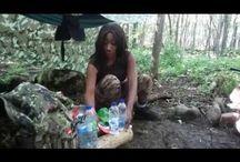 Bushcraft / Vidéo sans prétention sur le Bushcraft et la survie en forêt