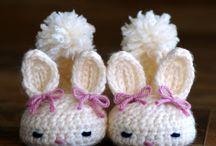 Bits o String - Crochet Slippers, Socks, Leg Warmers