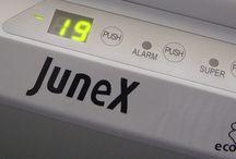 Junex / A Manuel J. Monteiro dispõe de marca própria com elevada notoriedade, a Junex, com fabrico de produtos maioritariamente em Portugal. A marca Junex é transversal a todas as áreas de negócio e apresenta soluções de produtos em electrodomésticos, equipamentos para o canal Horeca e ainda climatização.