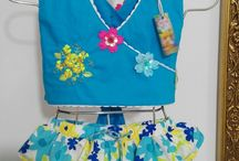 A la venta / Hermoso conjunto para niñas. Disponible desde la talla 2 ($35.000) hasta la talla 8 ($40.000)