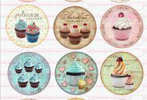 cupcake printies