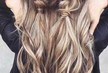 Lång håret