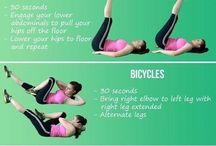 Jak se udržet fit? / Pravidelné cvičení napomáhá zdraví, navíc je to mnohem příjemnější než polykat léky a číst si příbalové letáky. Tak, a jdeme cvičit :-)