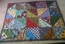 Made to order / Hand made pet quilt / by Sandy Whalen