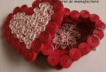 Quilling box