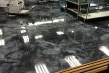 Metallic Flooring / Surface Safe is very excited about our range of one of a kind Metallic Illusion coating systems.  With many colour options to choose from you can totally customize your job, knowing that you will end up with a one of a kind surface that cannot be replicated.