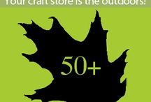 Bringing the Great Outdoors in with Crafts / by Heather Hasselman Stevahn