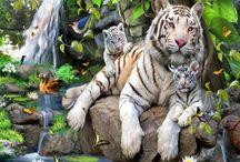 Welcome to the Jungle! / Upeat viidakkoaiheiset canvastaulut nyt meiltä.