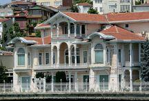 İstanbul yalıları,güzel evler